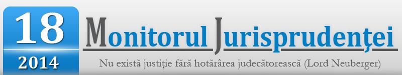 Monitorul Jurisprudentei nr.18