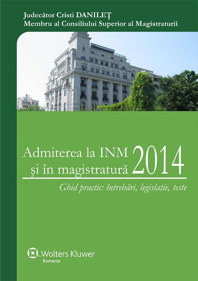 Admiterea la INM 2014
