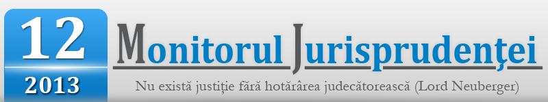Monitorul Jurisprudentei nr. 12