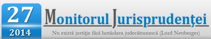 Monitorul jurisprudentei nr. 27