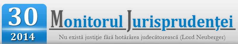 Monitorul Jurisprudentei nr. 30