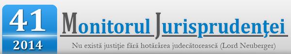 Monitorul Jurisprudentei nr. 41