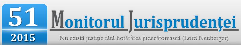Monitorul Jurisprudentei nr. 51