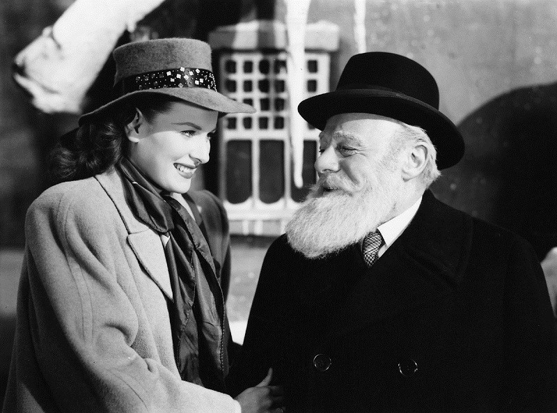 Maureen O'Hara and Edmund Gwenn