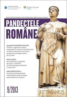 Pandectele Romane 09-2013
