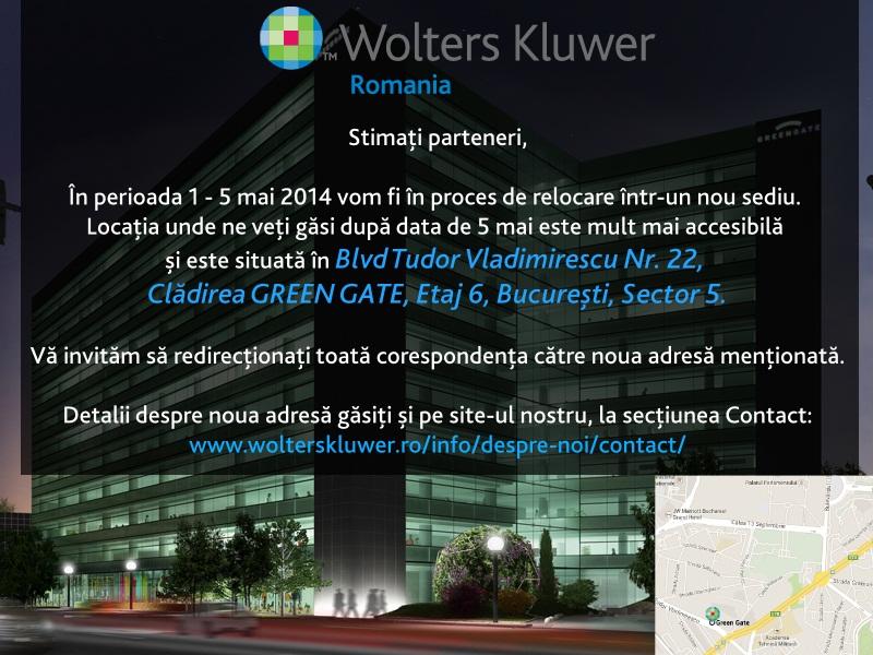 Noul sediu Wolters Kluwer Romania