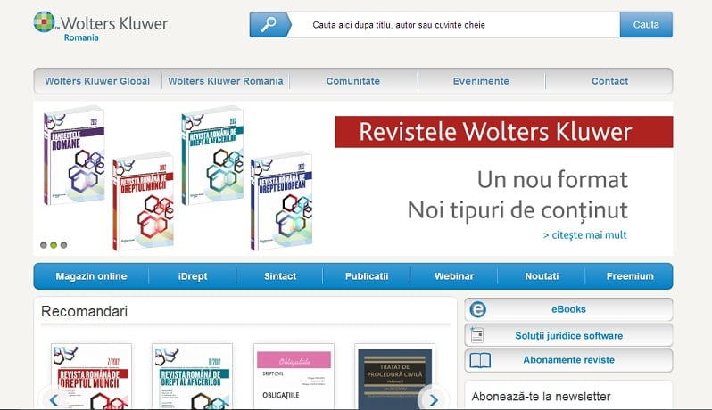 Site Wolters Kluwer