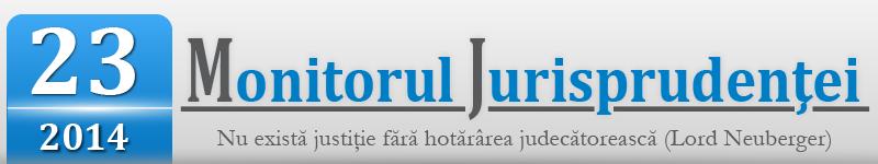 Monitorul Jurisprudentei nr. 23