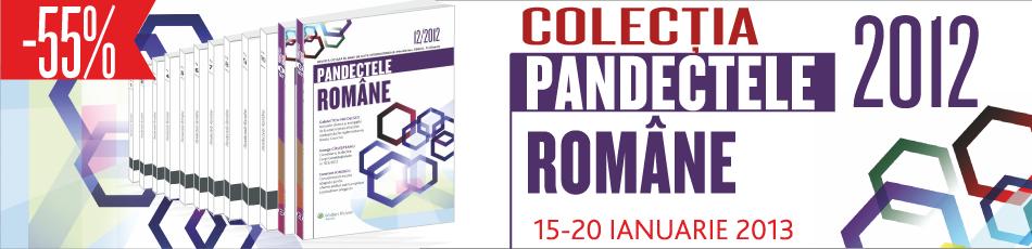 colectia pandectele romane