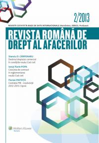 Revista Romana de drept al afacerilor nr 2