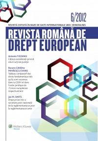 Revista romana de drept european nr. 6 2012