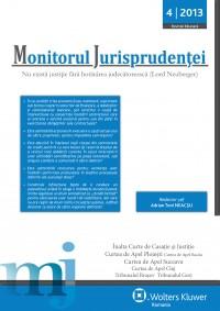 Monitorul Jurisprudentei nr. 4
