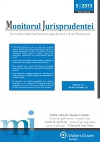 Monitorul Jurisprudentei nr. 5